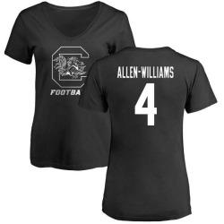 Women's Bryson Allen-Williams South Carolina Gamecocks One Color T-Shirt - Black