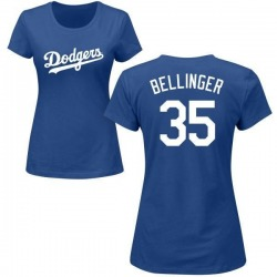 Women's Cody Bellinger Los Angeles Dodgers Roster Name & Number T-Shirt - Royal