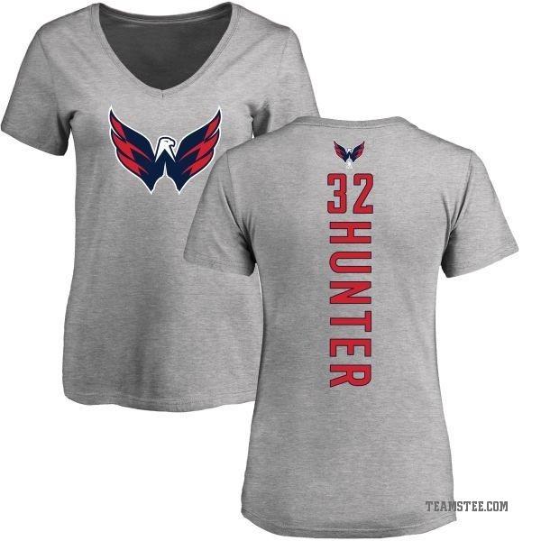 best sneakers b7859 3db56 Women's Dale Hunter Washington Capitals Backer T-Shirt - Ash - Teams Tee