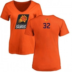 Women's Davon Reed Phoenix Suns Orange Backer T-Shirt