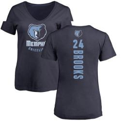 Women's Dillon Brooks Memphis Grizzlies Navy Backer T-Shirt