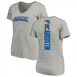 Women's D.J. Augustin Orlando Magic Ash Backer T-Shirt