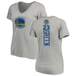 Women's Draymond Green Golden State Warriors Ash Backer T-Shirt