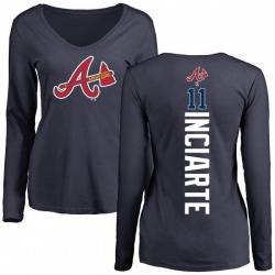 low priced bb1ee 651d6 Women's Ender Inciarte Atlanta Braves...