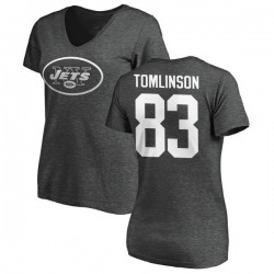 best service 2558c f37a8 Men's Eric Tomlinson New York Jets Name & Number Logo T ...