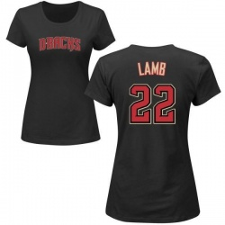 Women's Jake Lamb Arizona Diamondbacks Roster Name & Number T-Shirt - Black