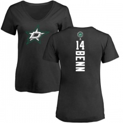 Women's Jamie Benn Dallas Stars Backer T-Shirt - Black