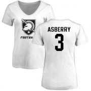 Women's Jordan Asberry Army Black Knights One Color T-Shirt - White