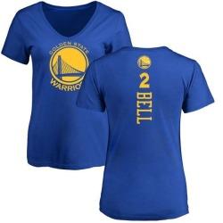on sale b5889 b0f1c Men's Jordan Bell Golden State Warriors Royal Backer T-Shirt ...