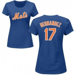 Women's Keith Hernandez New York Mets Roster Name & Number T-Shirt - Royal