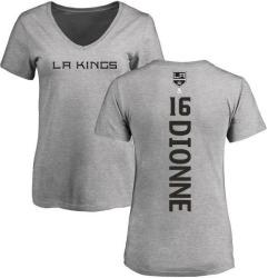Women's Marcel Dionne Los Angeles Kings Backer T-Shirt - Ash