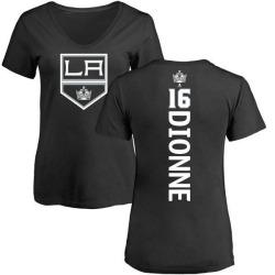 Women's Marcel Dionne Los Angeles Kings Backer T-Shirt - Black
