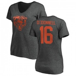Women's Pat O'Donnell Chicago Bears One Color T-Shirt - Ash