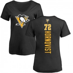 Women's Patric Hornqvist Pittsburgh Penguins Backer T-Shirt - Black