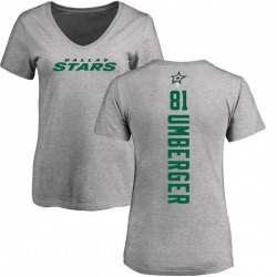 Women's R.J. Umberger Dallas Stars Backer T-Shirt - Ash