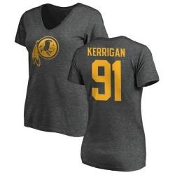 Women's Ryan Kerrigan Washington Redskins One Color T-Shirt - Ash