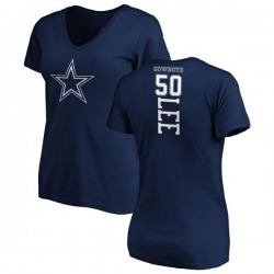Women's Sean Lee Dallas Cowboys Backer T-Shirt - Navy