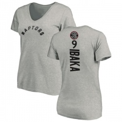 8e9f682b585 Men's Serge Ibaka Toronto Raptors Gametime T-Shirt - Teams Tee