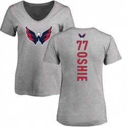 Women's T.J. Oshie Washington Capitals Backer T-Shirt - Ash