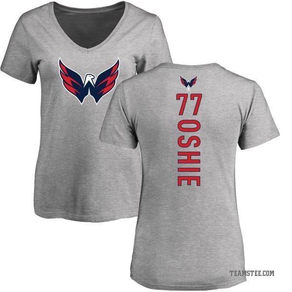 pretty nice c0706 47968 Women's T.J. Oshie Washington Capitals Backer T-Shirt - Ash - Teams Tee