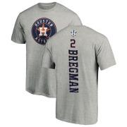 on sale 91256 640bd Youth Alex Bregman Houston Astros Backer T-Shirt - Ash