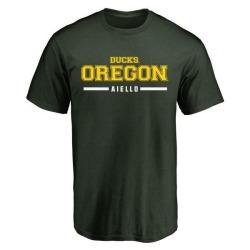 Youth Brady Aiello Oregon Ducks Sport Wordmark T-Shirt - Green