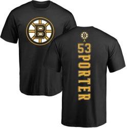 Youth Chris Porter Boston Bruins Backer T-Shirt - Black