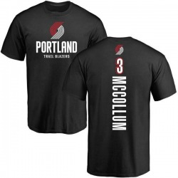 Youth C.J. McCollum Portland Trail Blazers Black Backer T-Shirt