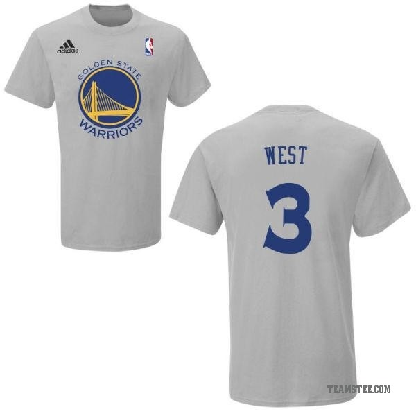 new product 5b629 aad00 Youth David West Golden State Warriors Gametime T-Shirt - Teams Tee
