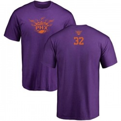 Youth Davon Reed Phoenix Suns Purple One Color Backer T-Shirt