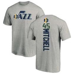 Youth Donovan Mitchell Utah Jazz Ash Backer T-Shirt