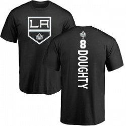 Youth Drew Doughty Los Angeles Kings Backer T-Shirt - Black