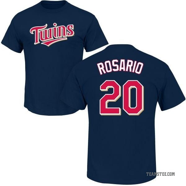 best service 27819 2c811 Youth Eddie Rosario Minnesota Twins Roster Name & Number T-Shirt - Navy -  Teams Tee