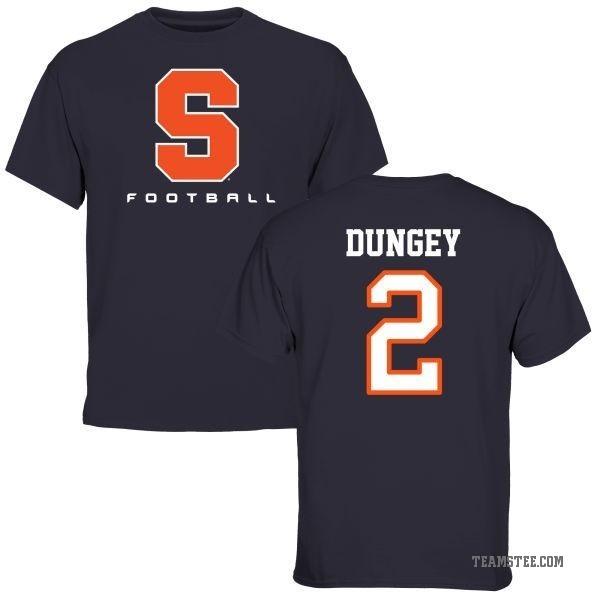 sports shoes 17b9e 22dca Youth Eric Dungey Syracuse Orange Football T-Shirt - Navy - Teams Tee