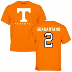Youth Jarrett Guarantano Tennessee Volunteers Football T-Shirt - Tennessee Orange