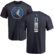 Youth Jimmy Butler Minnesota Timberwolves Navy Backer T-Shirt