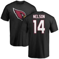 Youth J.J. Nelson Arizona Cardinals Name & Number Logo T-Shirt - Black
