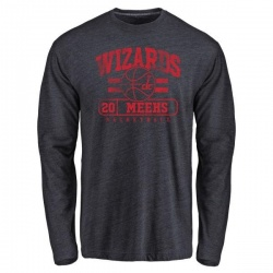Youth Jodie Meeks Washington Wizards Navy Baseline Tri-Blend Long Sleeve T-Shirt