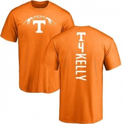Youth John Kelly Tennessee Volunteers Football Backer T-Shirt - Tennessee Orange