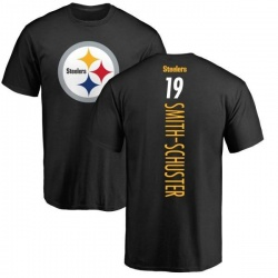 Youth JuJu Smith-Schuster Pittsburgh Steelers Backer T-Shirt - Black