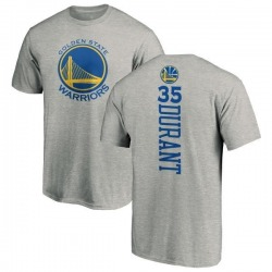 Youth Kevin Durant Golden State Warriors Ash Backer T-Shirt