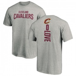 Youth Kevin Love Cleveland Cavaliers Ash Backer T-Shirt