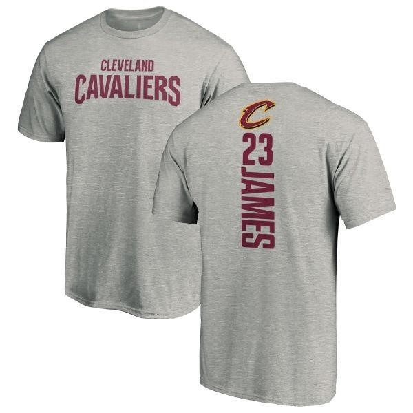 separation shoes 2d508 c5e46 Youth LeBron James Cleveland Cavaliers Ash Backer T-Shirt - Teams Tee