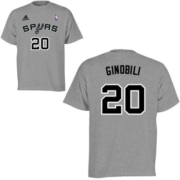 sports shoes 5a8ba 8a306 Youth Manu Ginobili San Antonio Spurs Gametime T-Shirt - Teams Tee