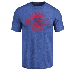 Youth Mike Richter New York Rangers Insignia Tri-Blend T-Shirt - Royal