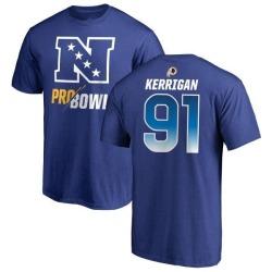 Youth Ryan Kerrigan Washington Redskins NFC 2019 Pro Bowl Blue Name & Number T-Shirt