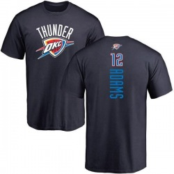 Youth Steven Adams Oklahoma City Thunder Navy Backer T-Shirt