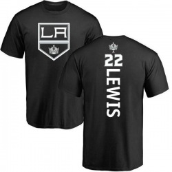 Youth Trevor Lewis Los Angeles Kings Backer T-Shirt - Black