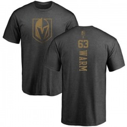 Youth Will Warm Vegas Golden Knights Charcoal One Color Backer T-Shirt